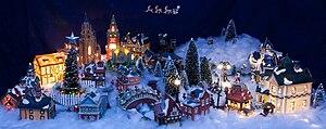 Christmas village - A modern Christmas Village