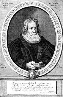 Christoph Scheibler German theologian