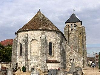 Achères-la-Forêt - The church in Achères-la-Forêt
