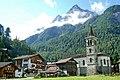 Church of Les hauderes near Evolene with petit and grand Veisivi - panoramio.jpg