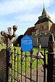 Church of St Nicholas, Fyfield, Essex, England - church sign.jpg