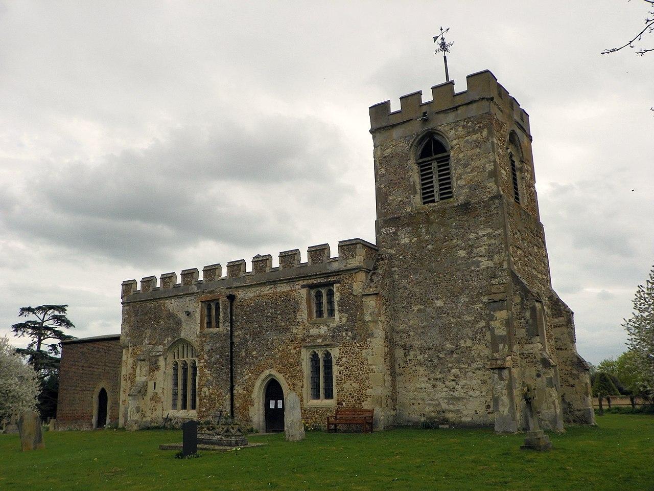File:Church of St Nicholas, Hinxworth (5630340081).jpg ...