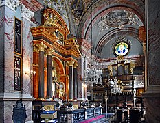 Church of the Visitation of the Blessed Virgin Mary, Chapel of Our Lady of Piasek (interior), 19 Karmelicka street, Krakow, Poland.jpg