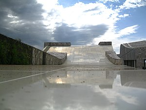 "National Design Awards - Peter Eisenman, Architecture Design winner in 2001, architect for ""Cidade da Cultura"" in Spain."