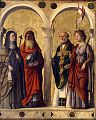 Cima da Conegliano. Santa Clara, Gerolamo, Nicola e Orsola. 1500-1510, Pinacoteca Brera, Milano.jpg