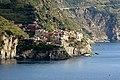 Cinque Terre, Manarola, vista dalla terrazza alla fine di via Serra, a Corniglia - panoramio - Carlo Pelagalli (1).jpg