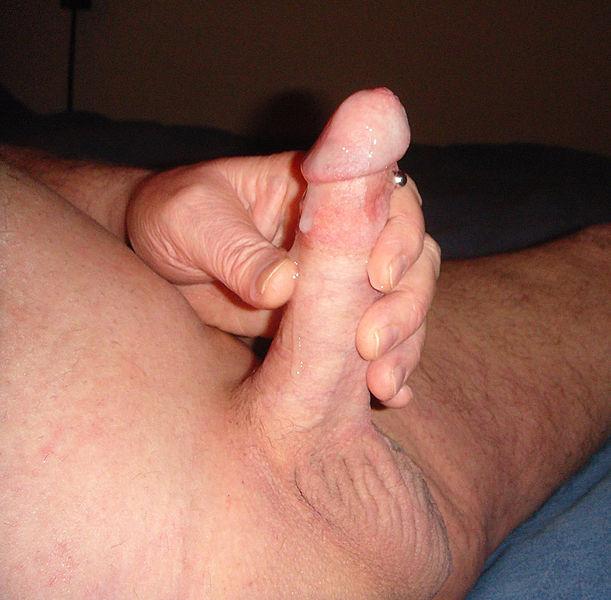Foreskin masturbation male