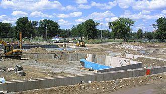 Citadel High School - Citadel High construction site, 9 August 2006