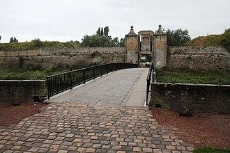 Siege of Calais (1596) - Photography of La Porte de Neptune. Citadel of Calais.