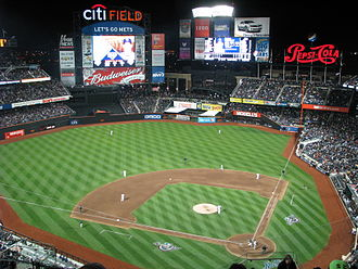 2009 Major League Baseball season - Opening Night at Citi Field on April 13, 2009