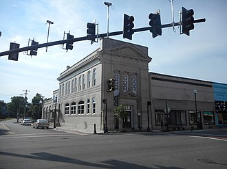 Hicksford–Emporia Historic District - Image: Citizen's National Bank; Emporia, VA 2