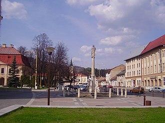 Brezno - Image: City centre brezno (4)