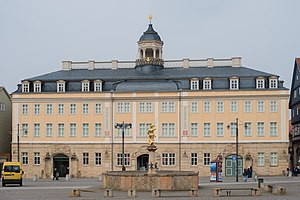 Saxe-Eisenach - Eisenach City Palace, finished in 1748