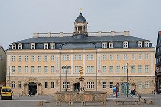 Saxe-Eisenach - Eisenach City Palace, finished in 1748