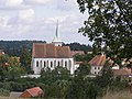 Cizkrajov, kostel & fara 01.jpg