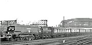 Clapham Junction Sir Winston Churchill's Funeral Train geograph-2675150-by-Ben-Brooksbank
