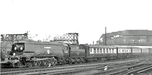 Траурный поезд Черчилля