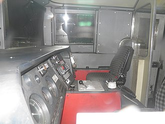 British Rail Class 91 - the blunt end cab
