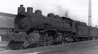 South African Class MF 2-6-6-2 - Image: Class MF no. 1623