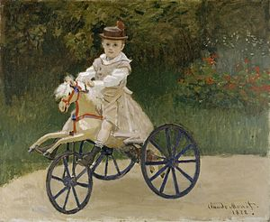 Jean Monet (son of Claude Monet) - Image: Claude Monet Jean Monet on his Hobby Horse