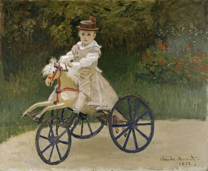 File:Claude Monet - Jean Monet on his Hobby Horse.jpg