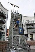 Climbing wall jersey