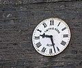 Clock, Newtowncunningham Church of Ireland - geograph.org.uk - 1029884.jpg