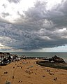 Cloud front over Viking Bay, Broadstairs, Kent, England 1.jpg