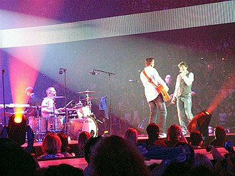 Clouseau (band) - Clouseau performing in December 2009