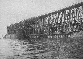 Dominion Steel and Coal Corporation - Coal pier in Sydney, ca. 1900