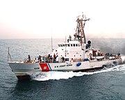 Coast Guardsmen aboard U.S Coast Guard Cutter Monomoy (WPB 1326)