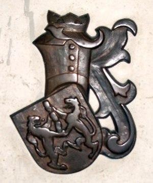 Fran Krsto Frankopan - Coat of arms of Fran Krsto Frankopan