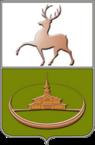 Coat of Arms of Kulebaki 1997 (Nizhny Novgorod oblast).png