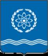 Coat of Arms of Obninsk (Kaluga oblast) proposal (2003 N2).png