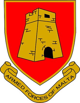 Armed Forces of Malta - Image: Coat of arms. Armed forces of Malta