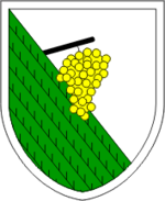 Coat of arms of Kungota.png