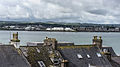 Cobh (pronounced Cove) dominates Cork Harbour one of the largest natural harbours in the world (7359400460).jpg