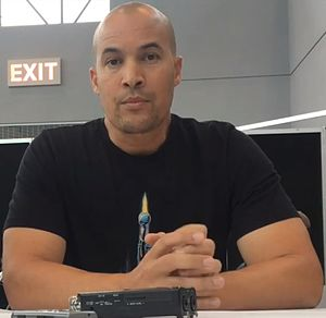 Coby Bell - Coby Bell interviewed at New York Comic Con in 2017
