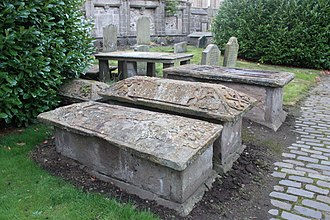 The Howff - Coffer tombs, The Howff, Dundee