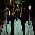 Cofradía de la Oración de Nuestro Señor en el Huerto de los Olivos y María Santísima de la Amargura, Granada, Semana Santa 2009 (31).JPG