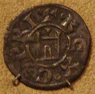 Kingdom of Cyprus - Coin of the kingdom of Cyprus, 13th century.