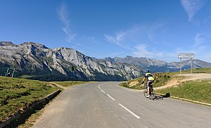 Col d'Aubisque - The Col d'Aubisque, on the road towards Gourette and the Ossau Valley