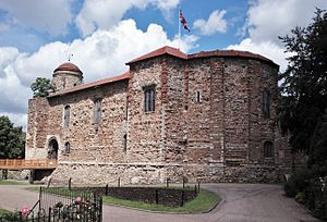Colchester - Colchester Castle, completed c.1100 AD