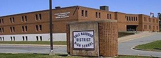 Cole Harbour District High School - Image: Cole Harbour District High School 2006 04 22