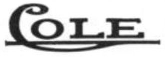 Cole Motor Car Company - Image: Cole motor 1912 logo