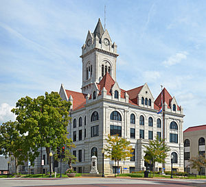National Register of Historic Places listings in Cole County, Missouri - Image: Cole County MO Courthouse 20140920 1