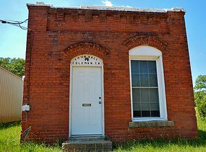 Coleman, Georgia - Image: Coleman, GA Town Hall