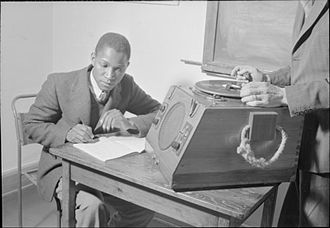 SOAS, University of London - A student from Northern Rhodesia at SOAS in 1946