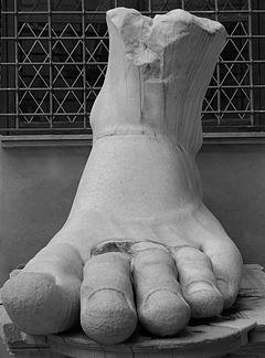 Colosso di Costantino - Musei Capitolini