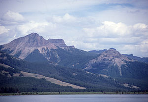 Colter Peak - Colter Peak and Turret Mountain